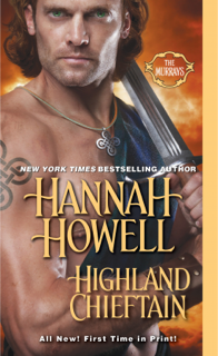 romance novel cover, historical romance, highland chieftain by hannah howell