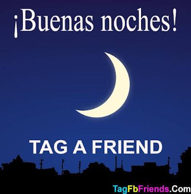Good Night in Spanish language