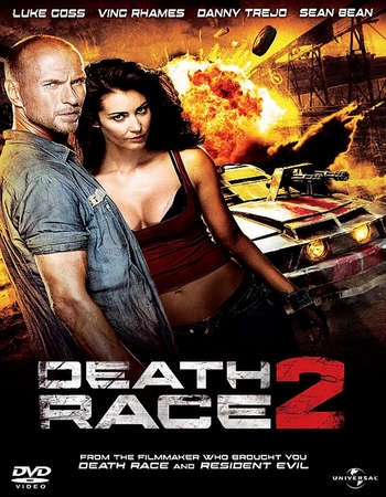 Poster Of Death Race 2 2010 Dual Audio 400MB BRRip 720p ESubs HEVC Free Download Watch Online downloadhub.in