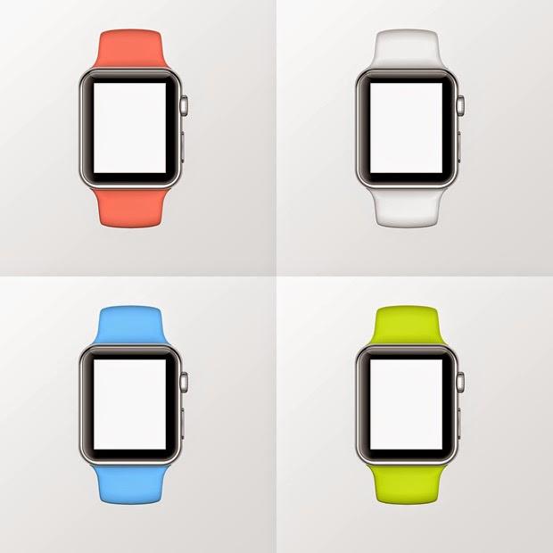 Apple Watch PSD Mock-Up