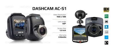 rekomendasi kamera mobil murah dan terbaik- ACS1 Car Dash Cam