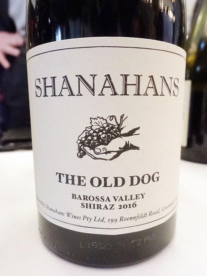 Shanahans The Old Dog Shiraz 2016 (88 pts)