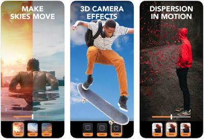 Aplikasi Foto Bergerak iPhone - Enlight Pixaloop
