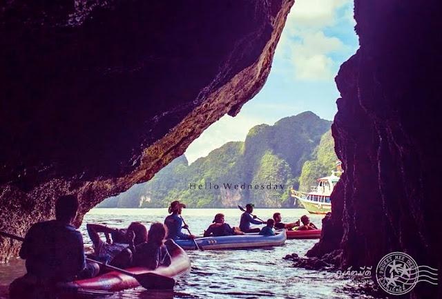 พังงา, ภูเก็ต, ภูเก็ตมีดี, อ่าวพังงา, Ao Phang Nga, Pang Nga, Phang Nga Bay, Phuket, Thailand, เกาะห้อง, ถ้ำค้างคาว 1