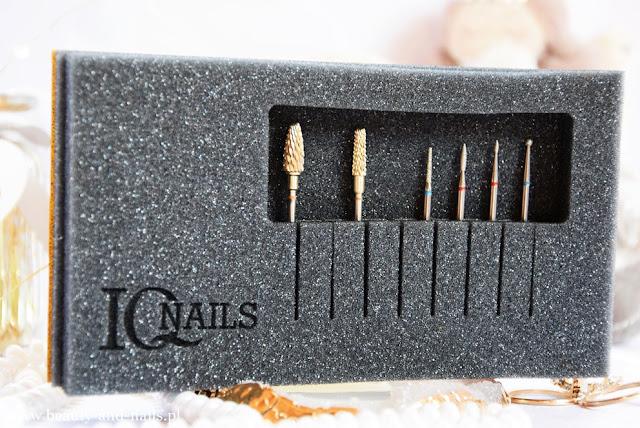 Zestaw frezów dla leworęcznych stylistek IQnails