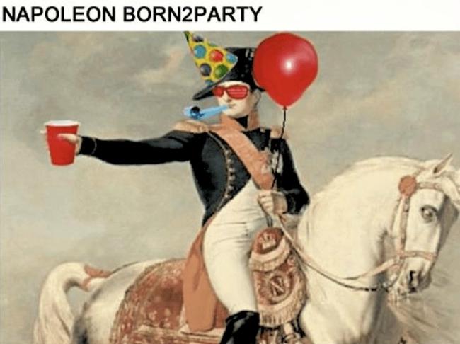 Napoleon-born2party