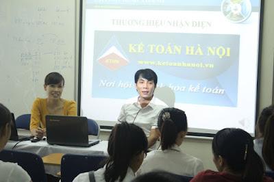 Học kế toán tổng hợp, kế toán thực hành tại Lê Trọng Tấn - Thanh Xuân