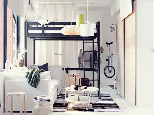 IKEA interior design ideas for small spaces   Home Decorating Cheap IKEA interior design ideas for small spaces