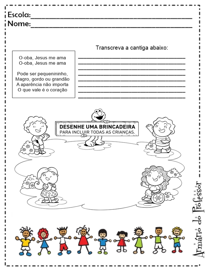 Famosos Plano de Aula: Linguagem Oral e Escrita e Música para o 2º ano  LM74