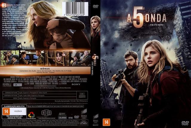 Capa DVD A Quinta Onda