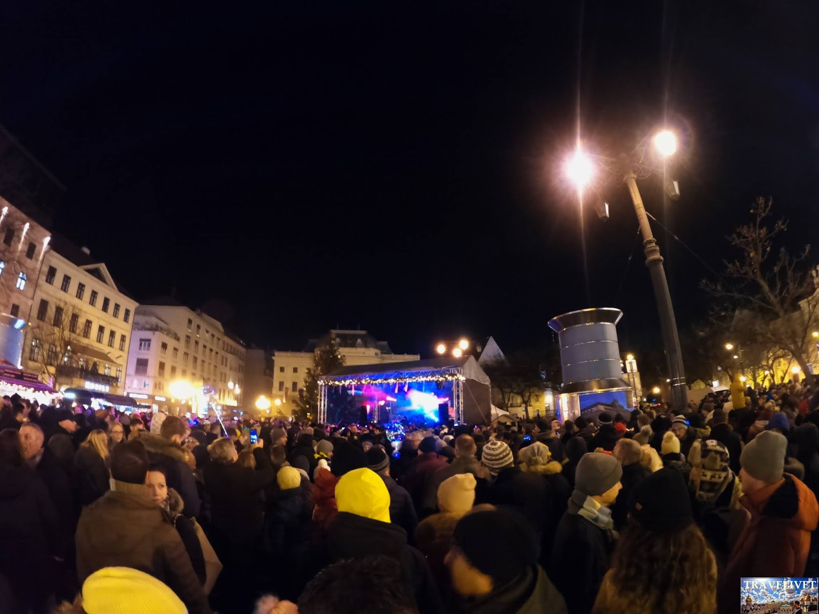 Fêter le nouvel an à Bratislava