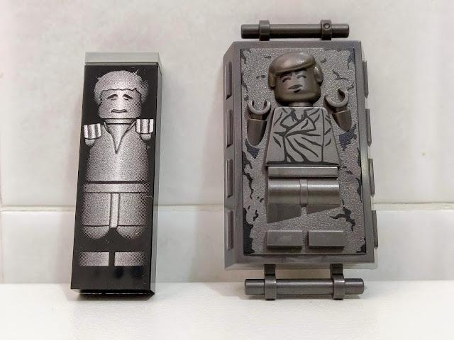 Han Solo nella carbonite... vecchia e nuova versione