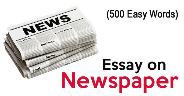 Essay on Newspaper