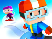 Download Game Blocky Snowboarding Apk v1.0.95