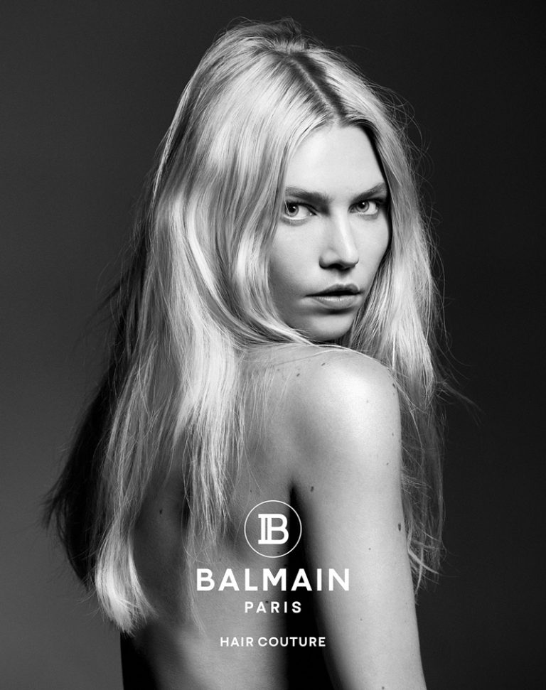 Balmain Hair Couture unveils fall-winter 2019 campaign with Aline Weber