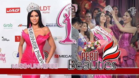 Gazini Ganados es Miss Universe Philippines 2019