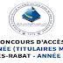 Concours d'accès en 2ème année de l'Ecole Nationale Supérieure des Mines de Rabat (titulaires d'un Master) 2019/2020