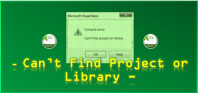 Mengatasi Error Can't Find Project or Library