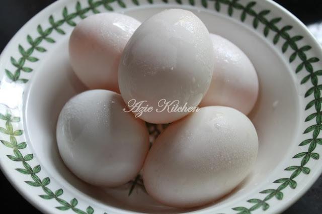 Cara Membuat Telur Masin Sendiri Yang Lebih Sedap