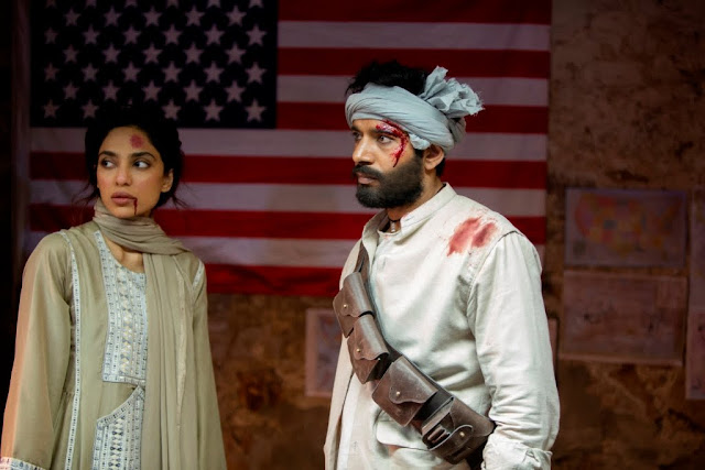 Viineet Kumar as Veer and Sobhita Dhulipala as Isha in Bard of Blood