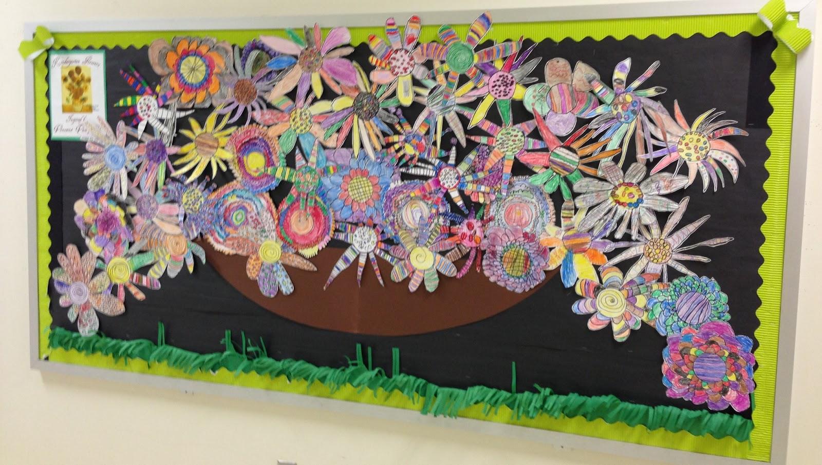 Apex Elementary Art Spring Is Here