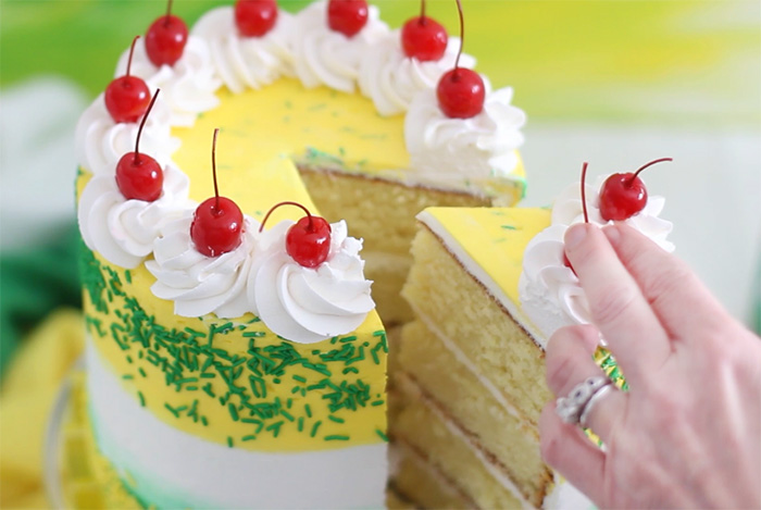 7UP Layer Cake