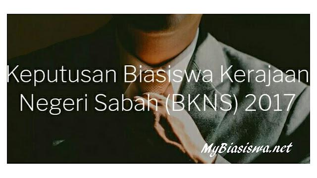 Semakan Keputusan Permohonan Biasiswa Kerajaan Negeri Sabah 2021 (BKNS)