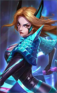 Karina Phantom Blade Heroes Assassin Mage of Skins V2