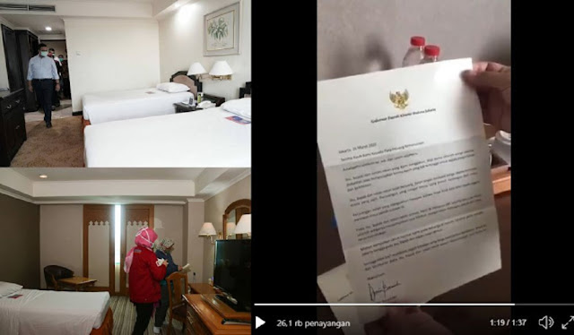Video Detik-detik Tenaga Medis Menangis Saat Baca Surat dari Gubernur Anies, Terharu Difasilitasi Hotel