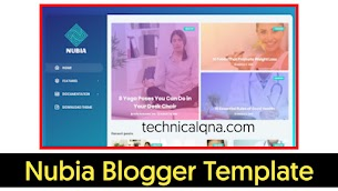 Nubia Responsive Blogger Template Free Download - Responsive Blogger Template