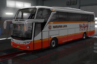 Livery Bus Harapan Jaya JB3+ Angga Saputro