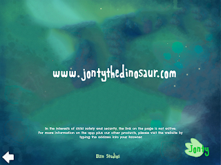 Jonty the Dinosaur website