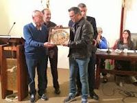"""Il giornalista Simone Bachini ha vinto il premio """"San Matteo per la cultura"""""""