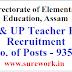 DEE LP UP Teacher Recruitment 2021| Assam Govt Job 2021