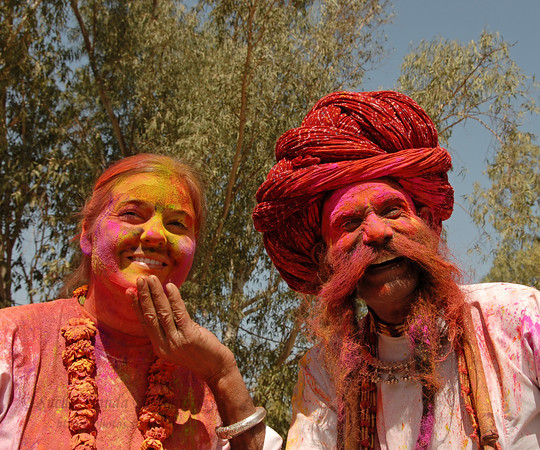 Happy Holi Images in Rajasthani