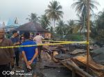 Kebakaran Kawasan Pasar Kuok, Belasan Kios Hangus Namun Tak Ada Korban Jiwa