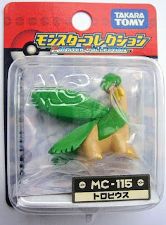 Tropius Pokemon figure Tomy Monster Collection MC series