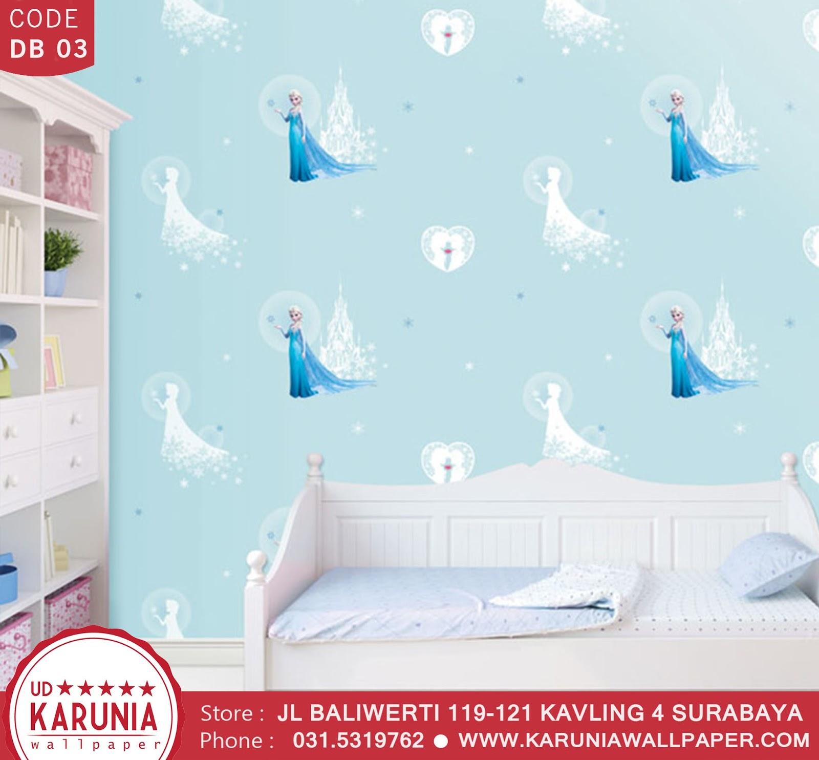 jual wallpaper dinding frozen karuniawallpaper surabaya