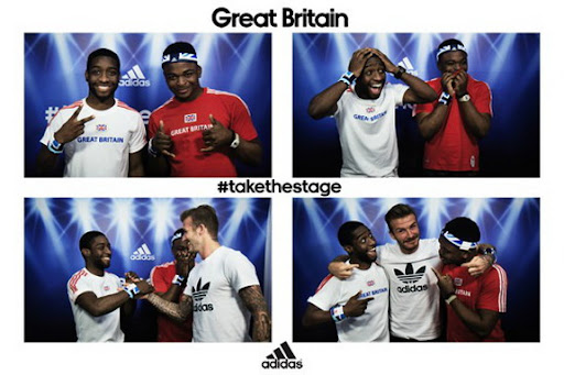 What would you do if David Beckham suddenly appeared in your photobooth?