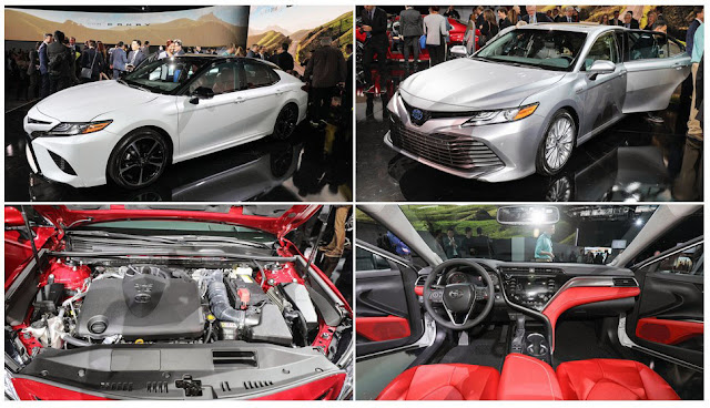 2018 Toyota Camry Redesigned