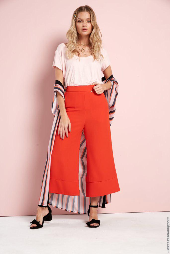 Pantalones primavera verano 2020 ropa de moda.