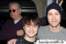"Daniel Radcliffe and cast ""How to Succeed"" at Gypsy Robe Ceremony"