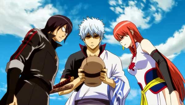 Gintama - anime comedy yang biking ngakak