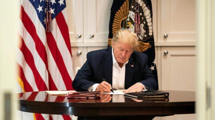 Wall Street cayó luego de que Trump congelara negociaciones por el paquete de estímulo