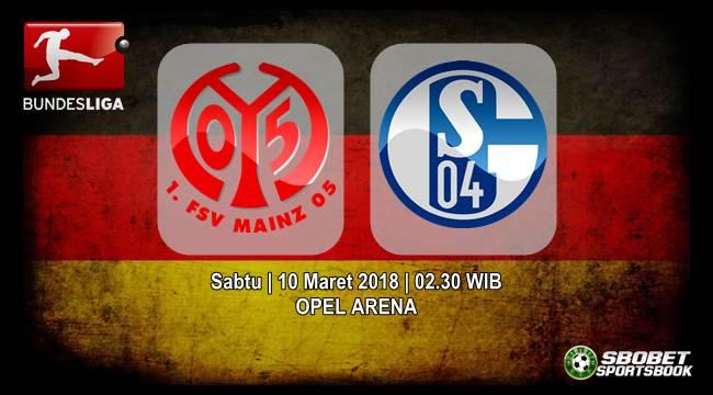Prediksi Mainz 05 vs Schalke 04 Bundesliga Sabtu, 10 Maret 2018   02.30 WIB