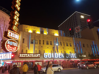 Golden Gate Hotel in Downtown Las Vegas
