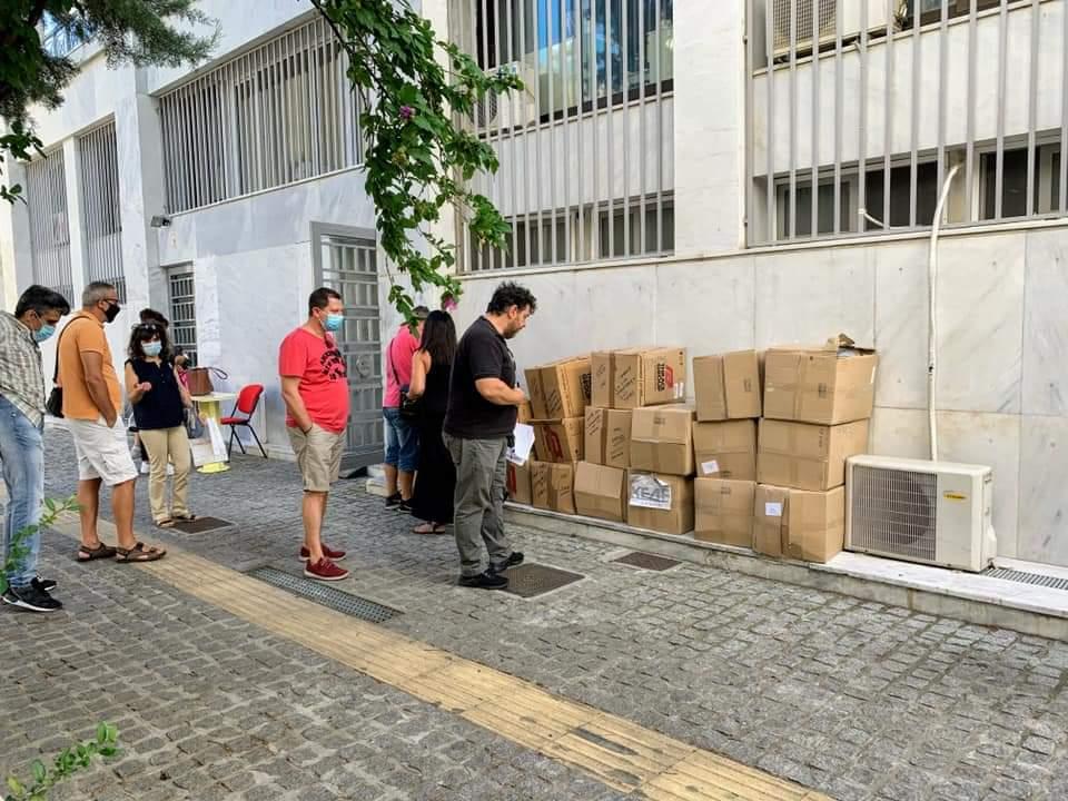 Έφτασαν οι δωρεάν μάσκες για τα σχολεία στην Ξάνθη