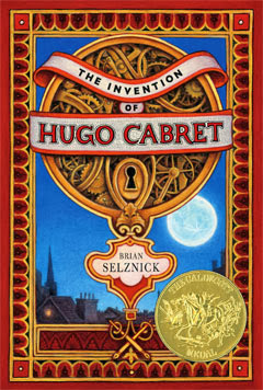 The Invention of Hugo Cabret by Brian Selznick - book cover