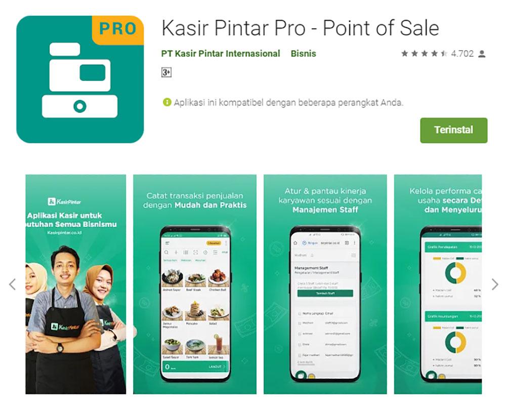 Rekomendasi Sistem Aplikasi Kasir/POS (Point of Sale) - Kasir Pintar
