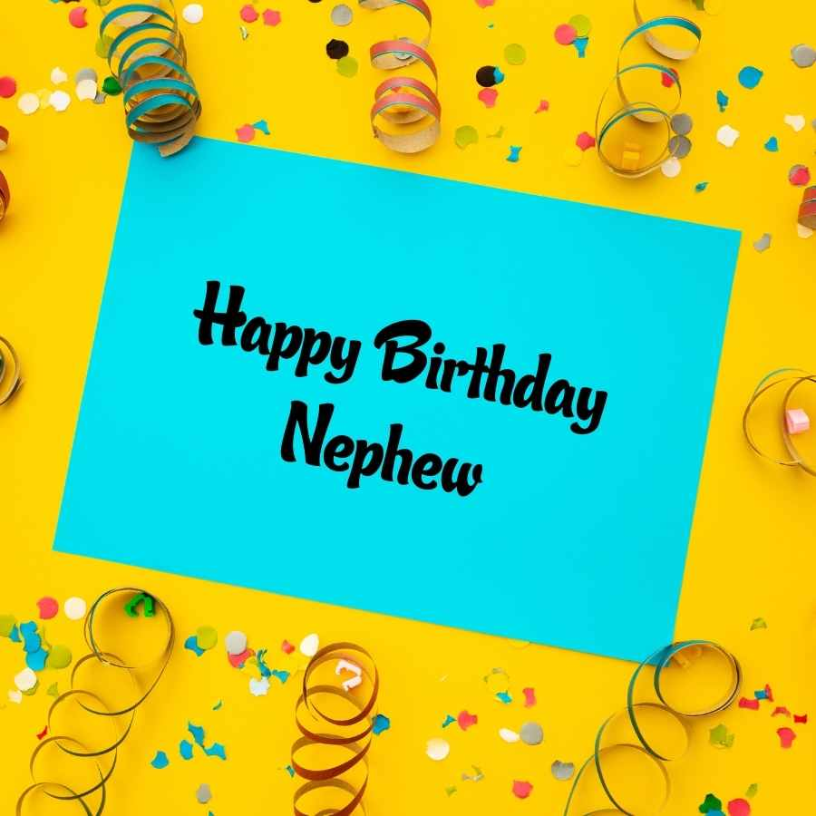 nephew birthday wishes images